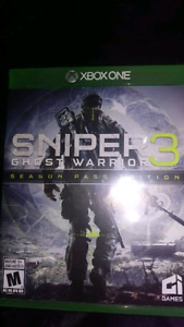 Xbox one sniper 3 ghost warrior .new