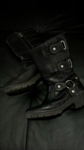 Authentic Harley Davidson Leather Riding Boots (6.5)