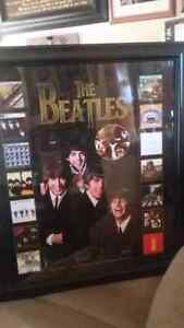 For Sale -Beatles Framed Picture  Peterborough Peterborough Area image 2