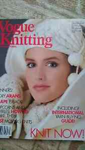 Vintage Vogue Knitting Magazine Pingouin Aarlan Phildar 1983-87