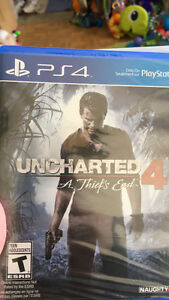 Never Opened Uncharted 4