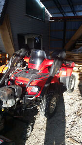 2008 CanAm Outlander Max with accessories