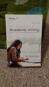 The Essentials of Academic Writing Canadian edition