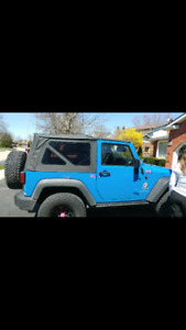 Soft top for a JK