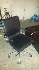 Professional Leather Office Chair Perfect Condition