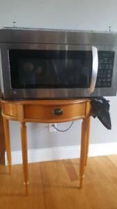 30 inch LG stainless steel microwave  200.00 obo