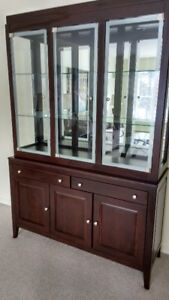Like New China Cabinet made in Canada