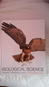 Biological Science Textbook for Sale