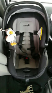 Infant car seat safety first