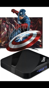 tv android movie boxes brand new 2gig
