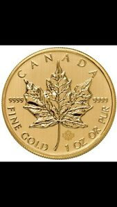 WANTED Canadian & American Gold & Silver coins bars rounds