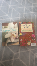 2 x Home Spa/The Fragrant Mind book