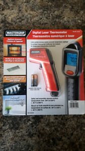 MASTERGRIP Digital Laser Thermometer (NEW)