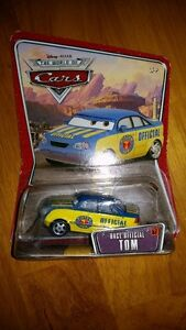 Disney Pixar WOC World of Cars Race Official Tom Diecast