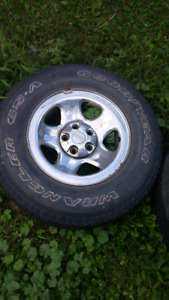 15 inch jeep tires and rims