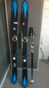 2014/15 Head Collective 105 181cm Mens Skis w/ bindings