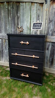 For Student trend setters-Amazing brass pipe pull retro dresser!