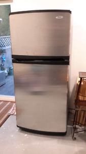 Stainless steel  Fridge, Excellent Condition.