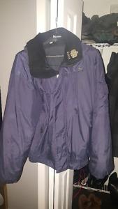 """Manteau Kanuk Style """"Corbeau"""", Bleu Marine"""