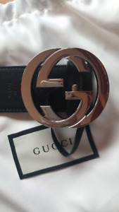 Selling unisex xs-small Gucci Belt - Silver