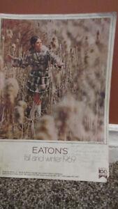 Eatons 1969 Fall & Winter Catalogue