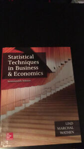 Statistical Techniques in Business & Economic (17th Edition)