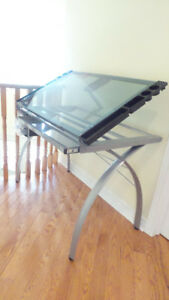 Brand New Drawing/Art Table with Adjustable Height and Storage