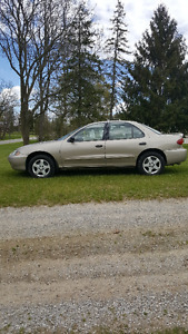 Only 95,750 KM 2003 Chevrolet Cavalier no rust