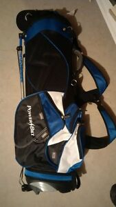 Brand new Powerbilt golf bag with leg stand + shoulder straps