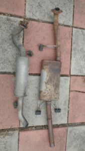 Muffler exhaust system 2010 ford escape