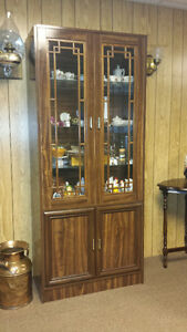 China and Curio Cabinet - Moving and Downsizing Must Sell