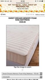 King mattress from simply be