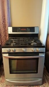 LG stainless steel Gas range Cambridge Kitchener Area image 5