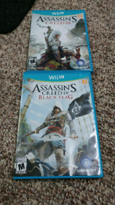 WiiU Assassin's Creed 3 and 4