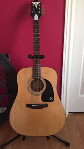 EPIPHONE GUITAR LIKE NEW :USED A COUPLE TIMES