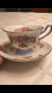 Collection of Shelley Tea Cups and Creme and Sugar London Ontario image 5