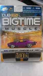 JADA TOYS DUB CITY BIGTIME MUSCLE 69 CHEVY CHEVELLE SS