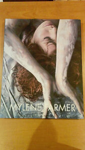 Mylene Farmer Fragile 2015 hard cover book