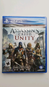 Assassin's Creed Unity PS4 game, sealed