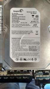 Hard Drives : 160-1TB SATA, IDE and SAS hard drives for sale