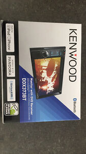 Kenwood DDX373BT monitor with DVD receiver