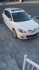 2009 Mazda Mazda3 Sport GT Hatchback White $7000