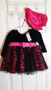 Dress and diaper cover 3-6months
