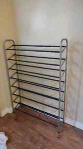 40 pair Shoe Rack. Perfect Condition.