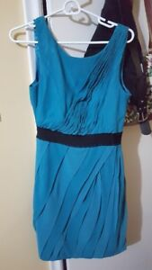 Turquoise Max and Cleo Dress Size 8