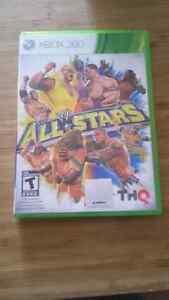 WWE all stars sans manuel xbox 360 15$
