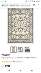 Valloby Area rug 170x230cm