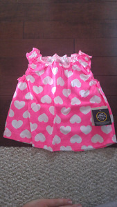 Baby Girl Tank Tops and Shorts (3-6 months)