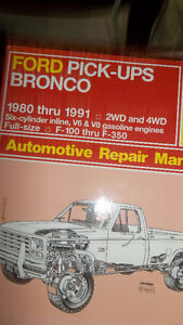 Haynes manual for Ford Pick-Ups & Bronco