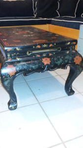 Hand painted coffee table.